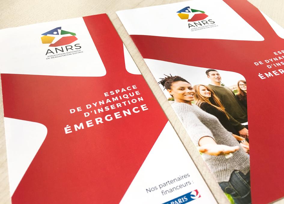 dépliant Émergence ANRS - couverture