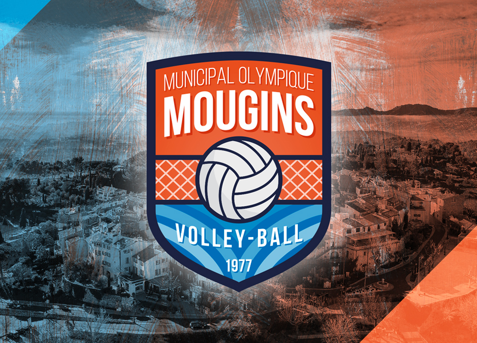 logo MO Mougins VB / test